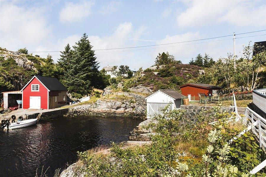 Ferienhaus Øygarden