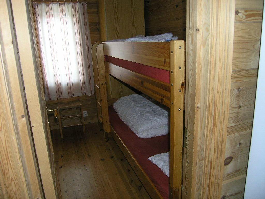 Das dritte Schlafzimmer mit Doppelstockbett
