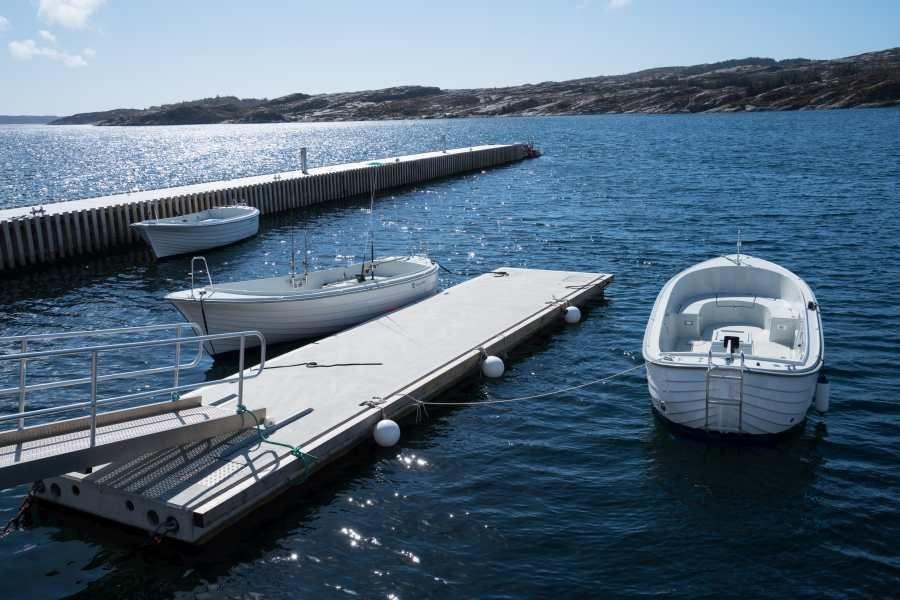 Gut ausgestattete Skager Dieselboote warten auf Sie
