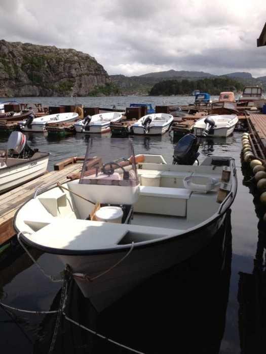 Øien Boote mit 25 PS uns GPS/Plotter - jeder Meeresangler kennt sie
