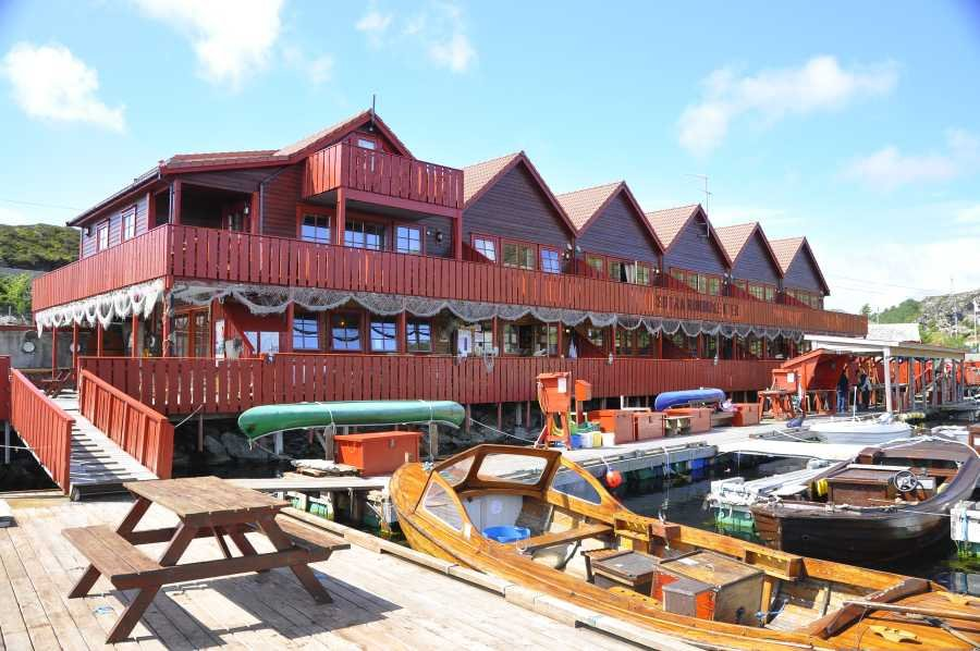 Das Sotra Rorbusenter bei Bergen - klassisch, gemütlich und vor Allem perfekt für Angler!