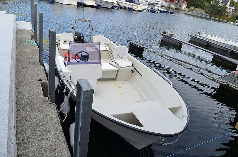 Das Motorboot 20,3 Fuß / 60 PS