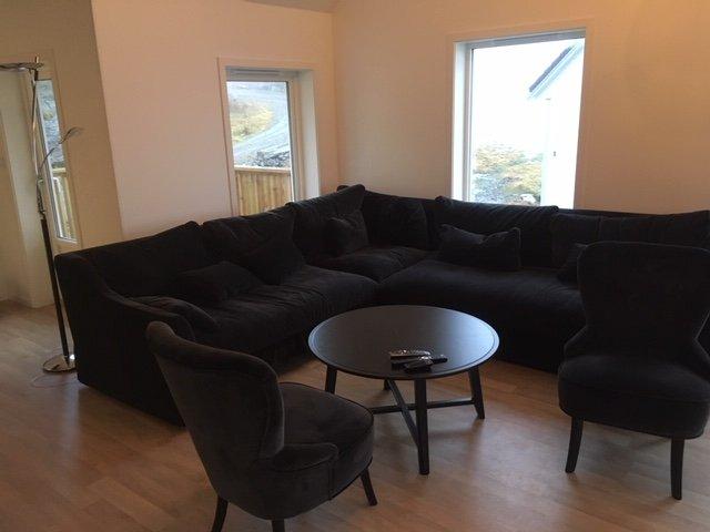Gemütliches Sofa.