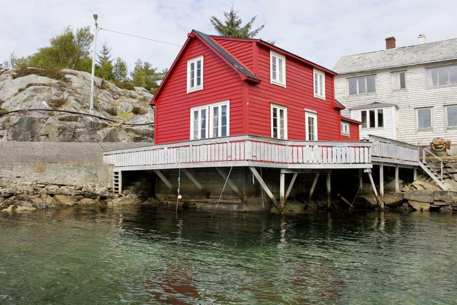 Blick vom Boot auf Ihre Terrasse