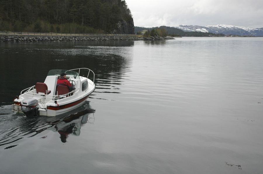 Das zweite, zubuchbare Angelboot
