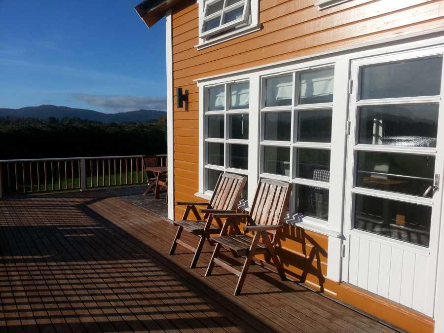 Terrasse zur Sonnenseite