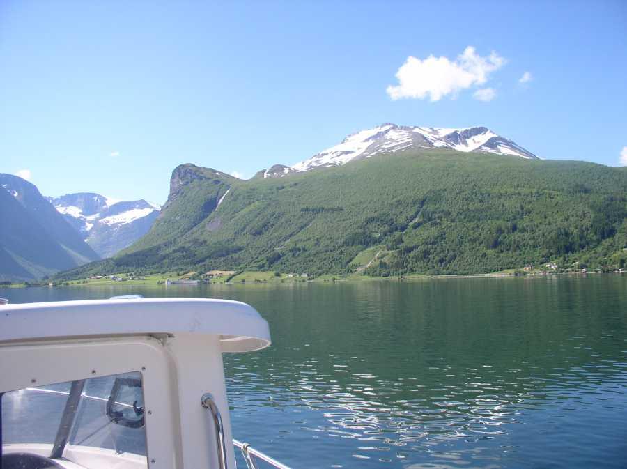 Hier geht es vom Innfjord in den Romsdalfjord über