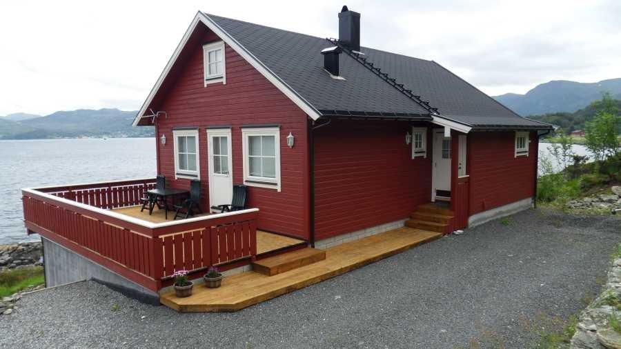Willkommen am Aaramsund - hier das Haus Westkap...