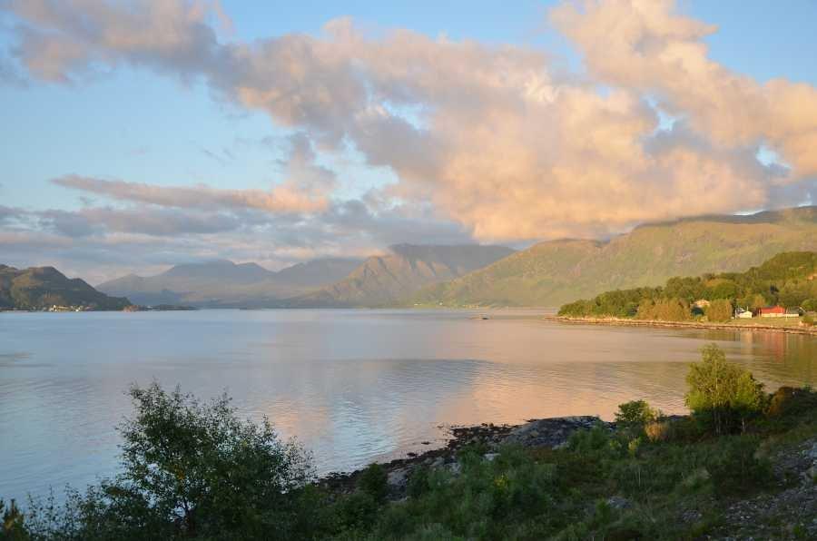 Der fischreiche Rovdefjord.