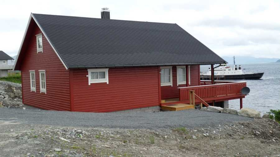 ...und das Haus Nordfjord in Sichtweite.