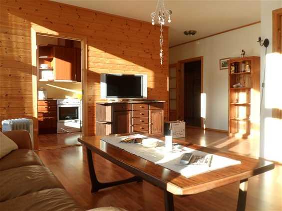Apartment an der Sonnenseite.