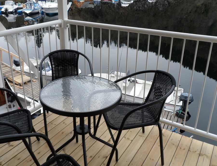 Beispiel Terrasse bei Wohnung 1-3