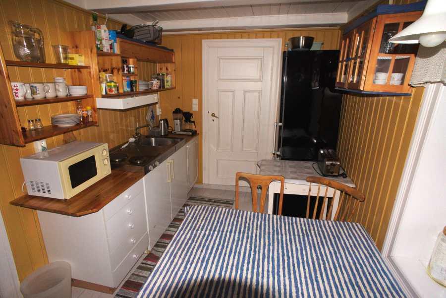 Küche im Stabbur
