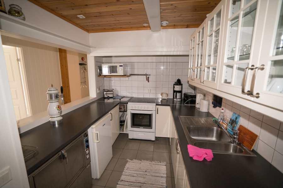 Wohnbeispiel: Küche im Apartment