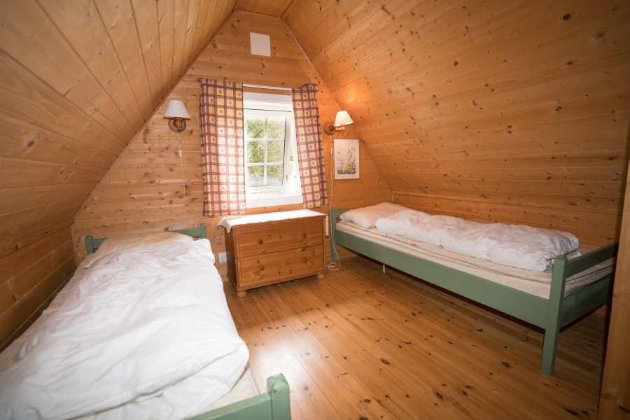 Schlafzimmer Nr. 1 im Hexenhaus