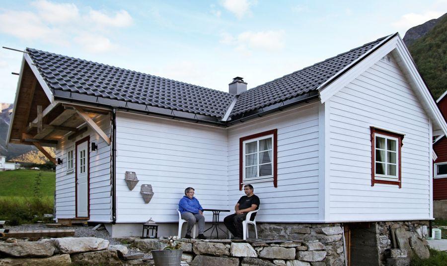 Tolles Ferienhaus für zwei Personen am Sognefjord