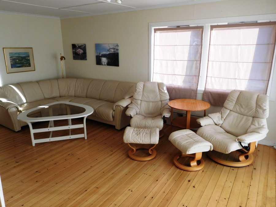 Die neue Innenausstattung des Apartments Kveita