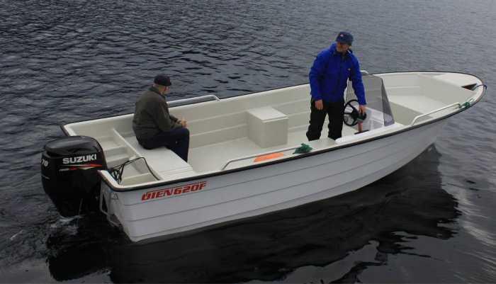 Neue Øien-Boote Baujahr 2014! 20 Fuß lang und 40 PS Stark