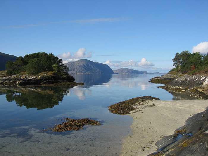 Die Landschaft ist es, was Norwegen so schön macht