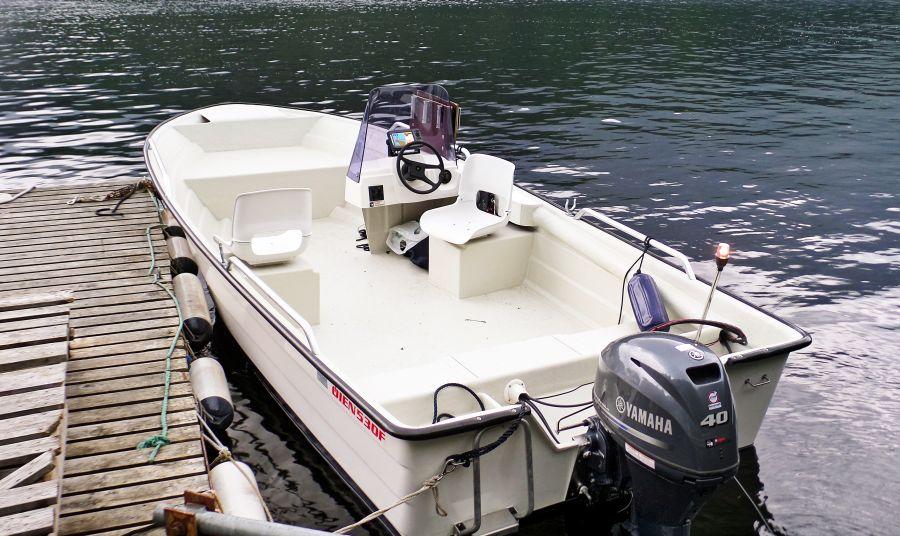 Perfektes Fjordboot