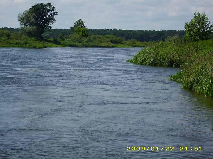 Der Fluss Warthe