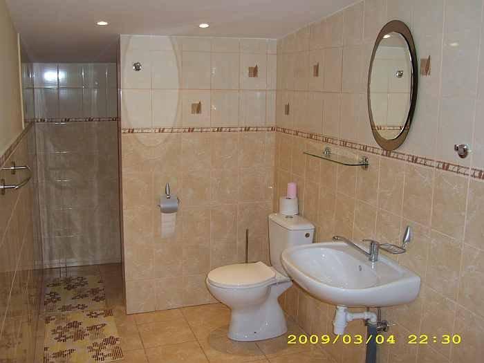 Badezimmer im Apartment Hecht