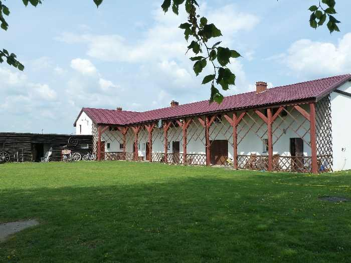 Das Hauptgebäude der Ranch verfügt über insgesamt 2 unterschiedliche Apartments