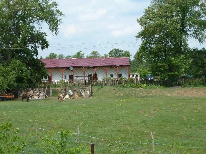 Die Ranch Wels liegt idyllisch am Flußufer der Warthe