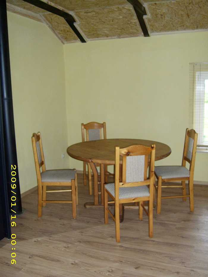 Essbereich im Apartment Wels