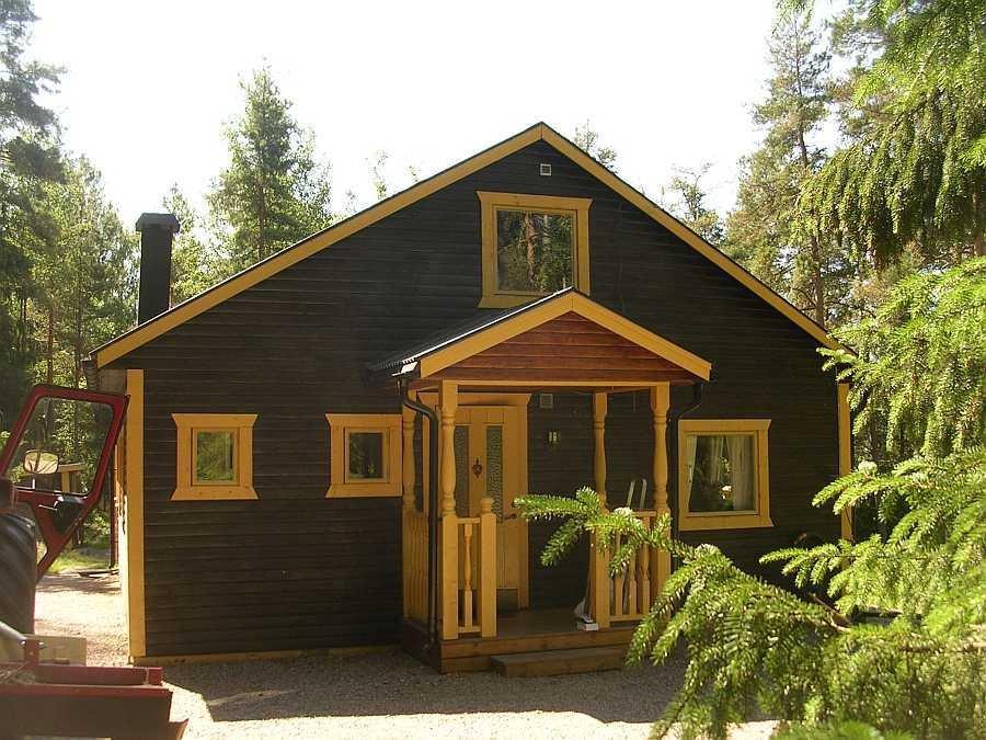 Ferienhaus Högas am See Lelång in Schweden.