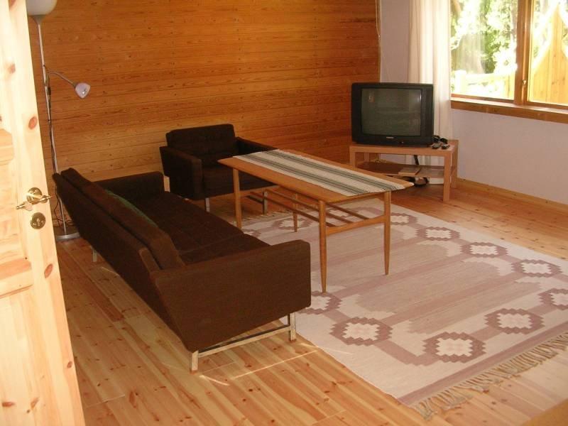 Wohnbereich vom Ferienhaus Högas in Schweden