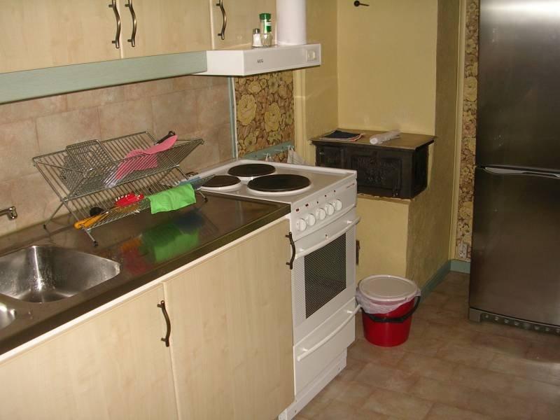 Die Küche vom Ferienhaus Högas