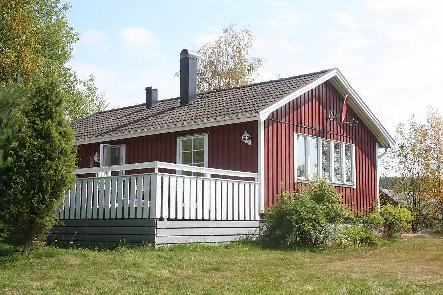 Schön gelegen: das Ferienhaus Liane.