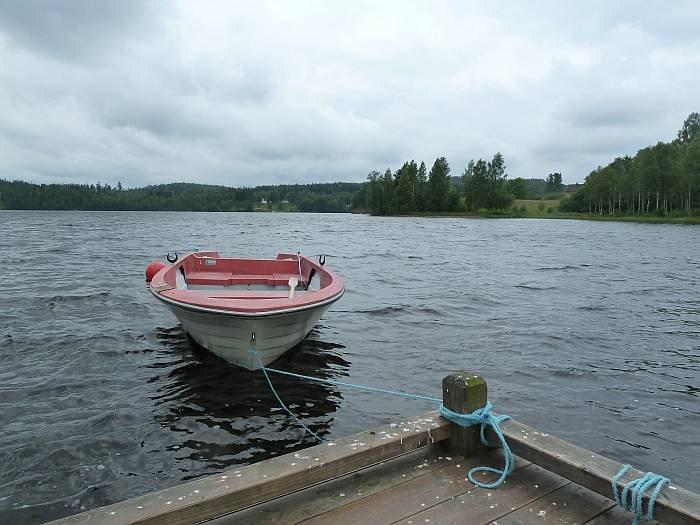 Angelboot - bereits im Preis enthalten