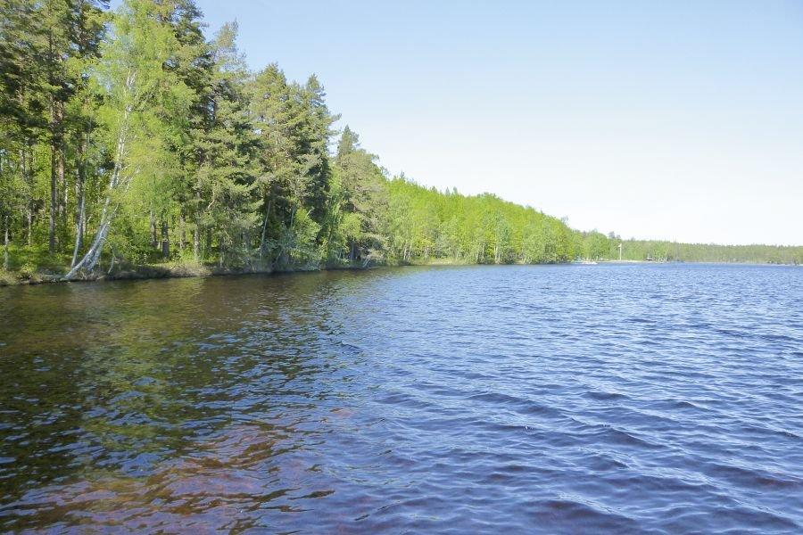 Der Stora Hammarsjön in seiner vollen Pracht.