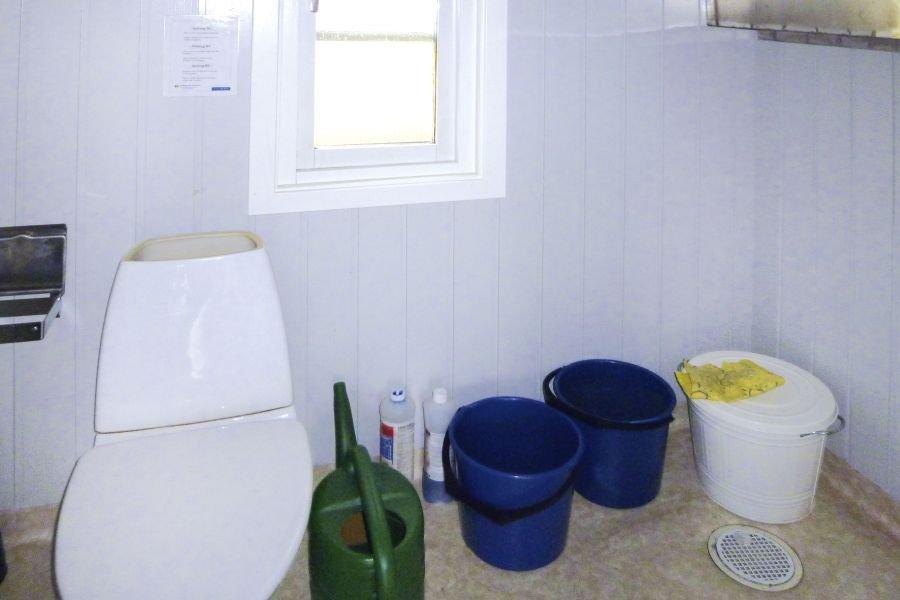 Das WC.