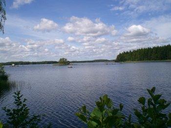 Der Åsnen See.