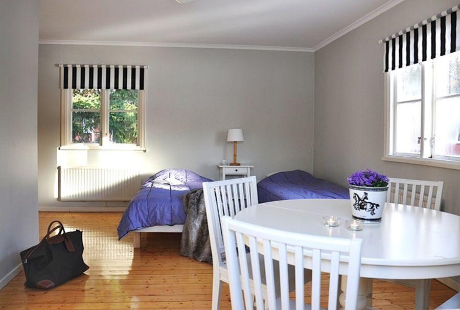 Jede Wohnung bietet Platz für zwei Personen.
