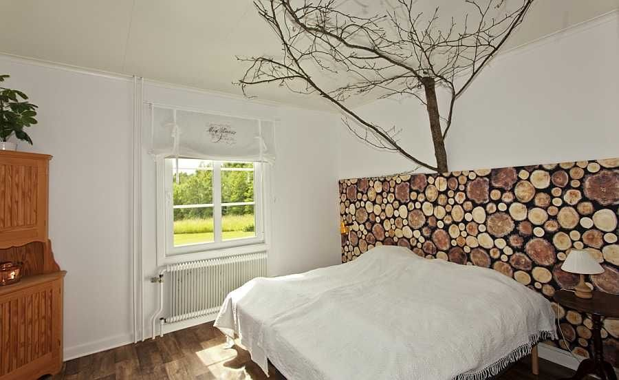 Eines der schönen Schlafzimmer.