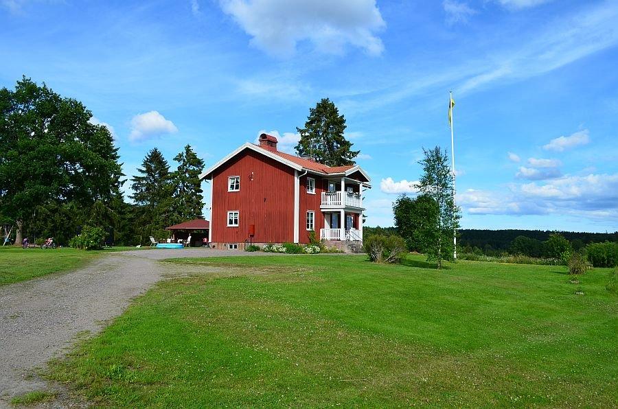 Ferienhaus Älg am See Östra Silen
