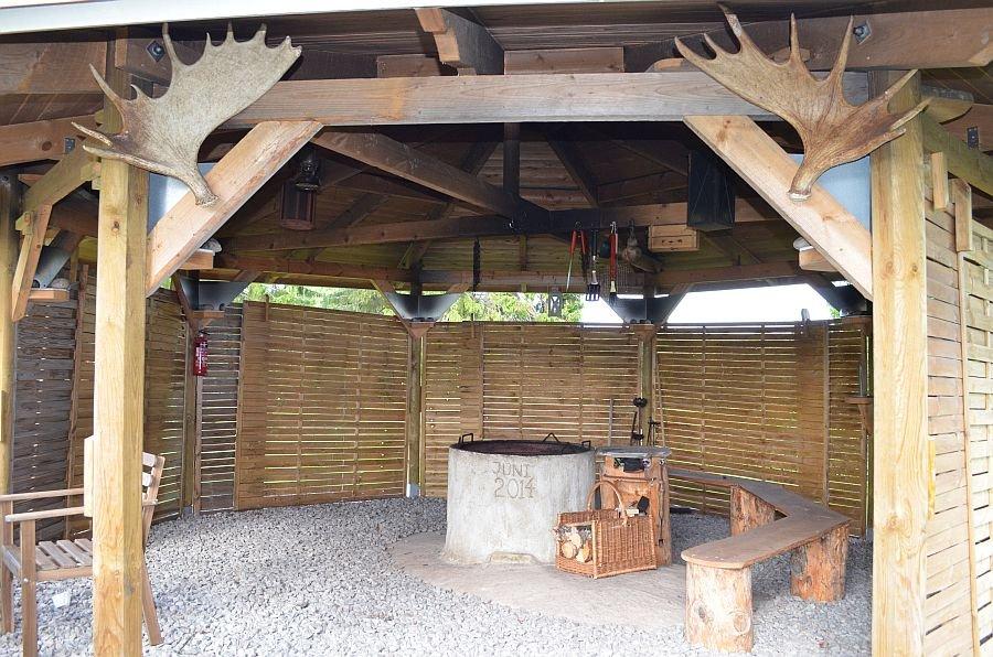 Die eigene Grillhütte