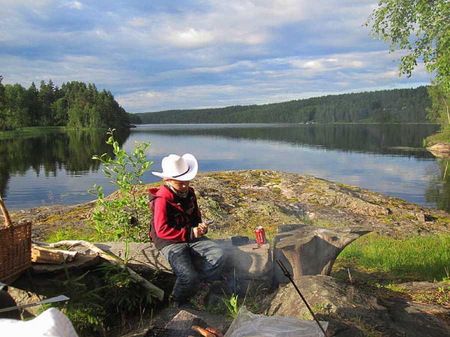 Abenteuer pur erwartet Sie im Värmland am Östra-Silen.