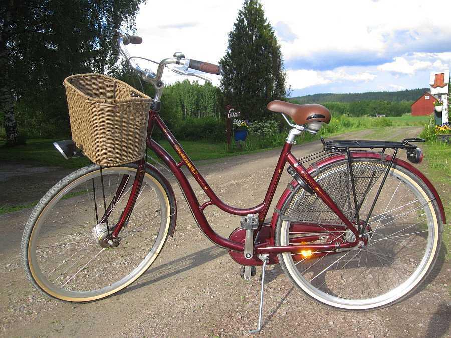 ... und Trekking-Fahrräder stehen zur Verfügung.