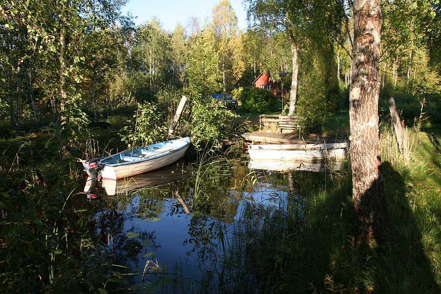 Bootshaus zum Ferienhaus Gert