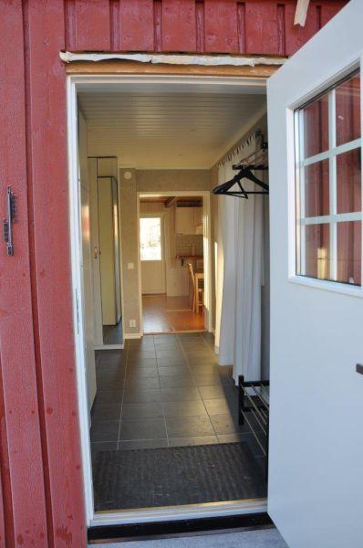 Der Eingang zum Ferienhaus Henrik