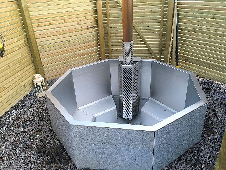 Ein Hot Tub, ideal für die kalten Tage!