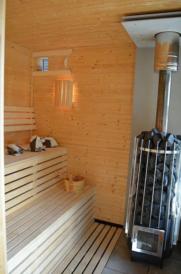 Die Sauna.