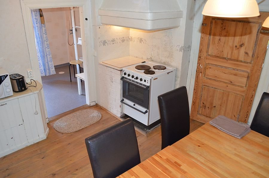 Esszimmer und Küche in einem.