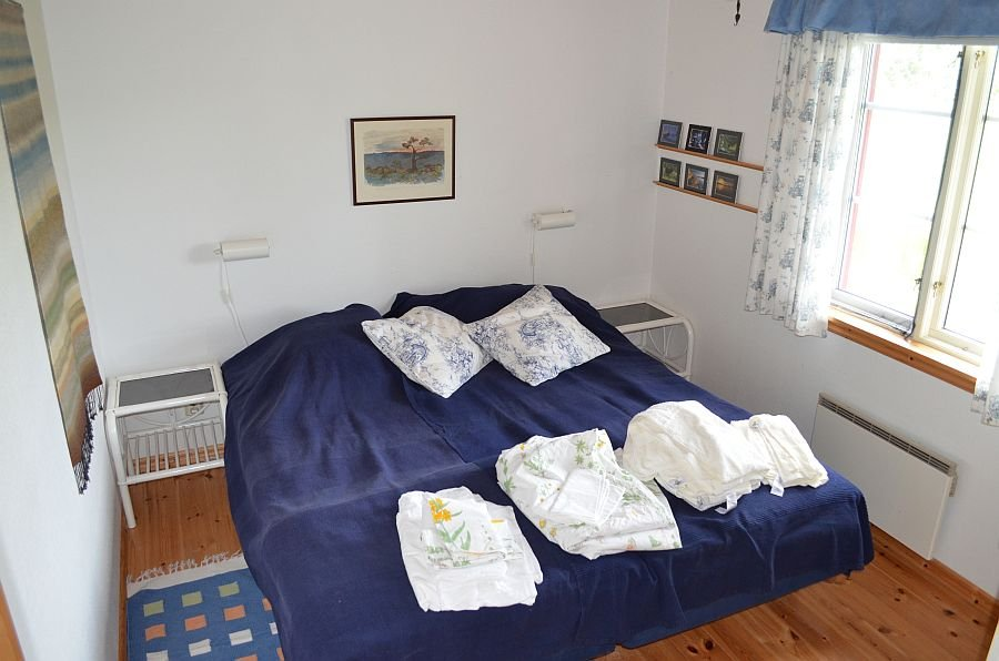 Das erste Schlafzimmer.