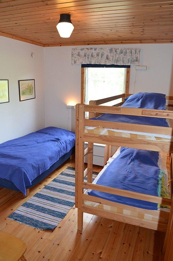 Das zweite Schlafzimmer.